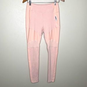 GymShark Peach Color Workout Leggings Size Medium